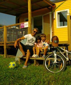 famille de cyclistes