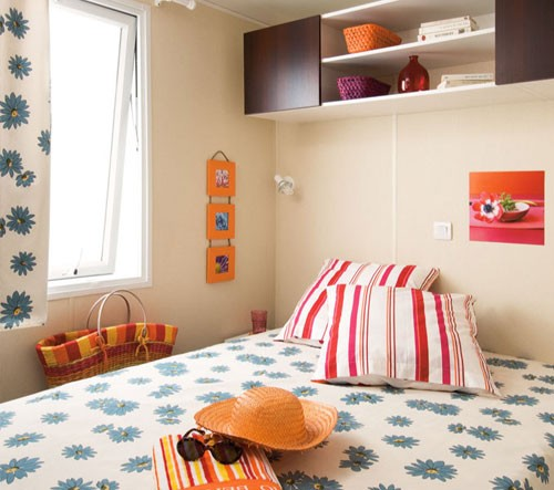 chambre mobile home camping oyam
