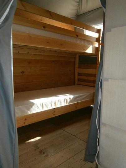 chambre enfant lodge camping Oyam