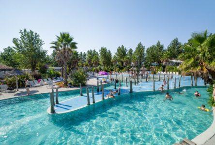 camping avec piscine chauffee biarritz bidart baignade