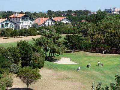 golf de Biarritz à côté du camping Oyam