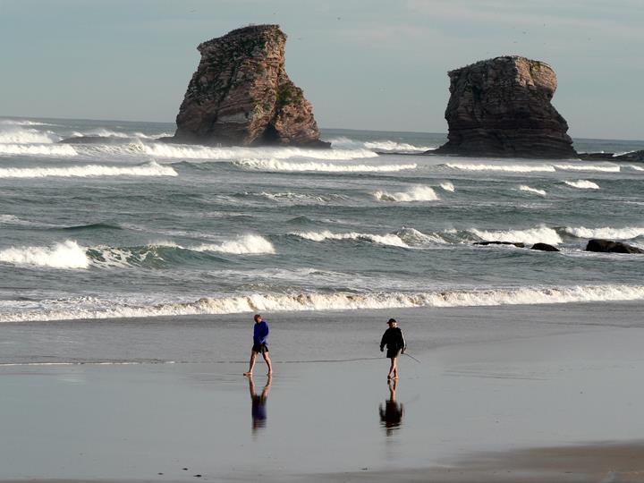 vacances à la plage à Hendaye