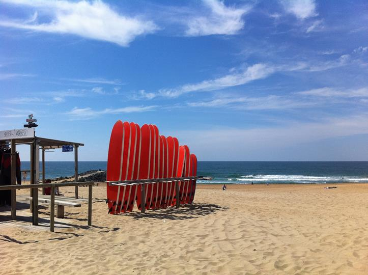 plages à anglet
