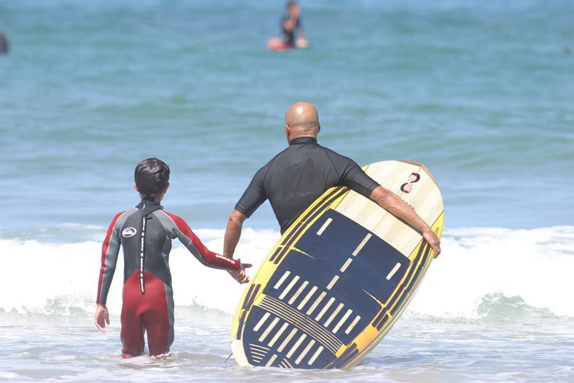 partenaire du camping oyam école de surf Eric Garry