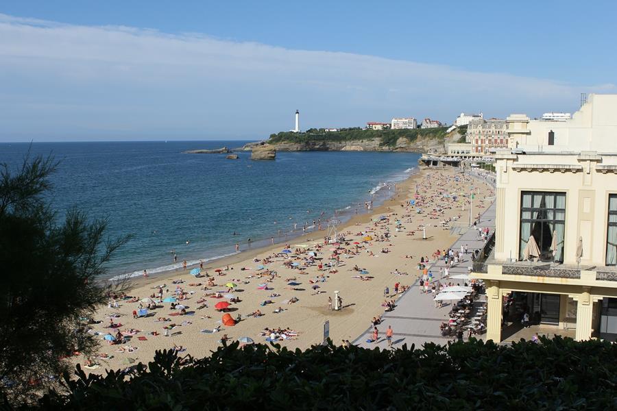 plages de biarritz entre copains