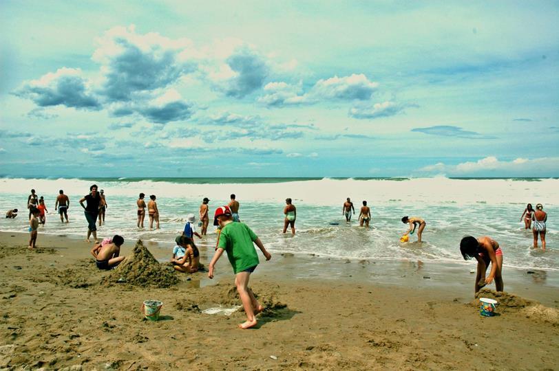 plages bidart uhabia camping oyam