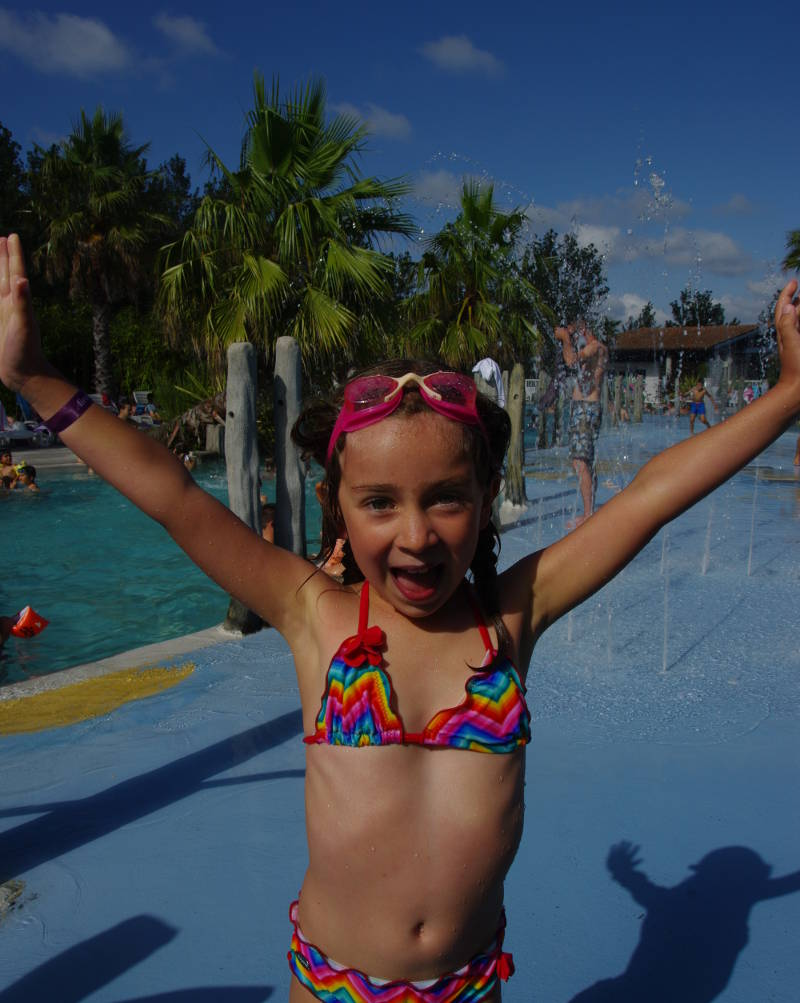 camping paradis avec piscine chauffee biarritz bidart