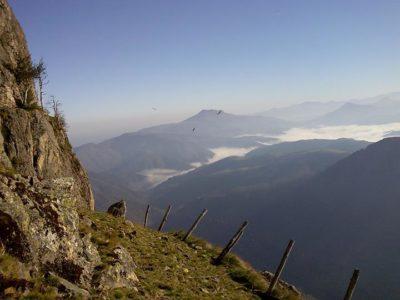 rando en montagne basque