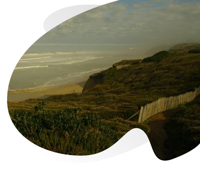 le sentier littoral à Bidart
