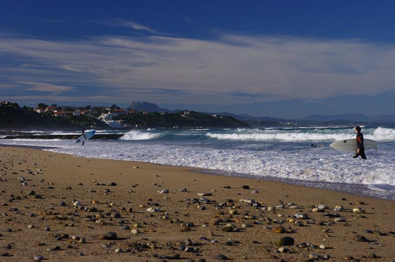 séjour à thème surf bidart camping