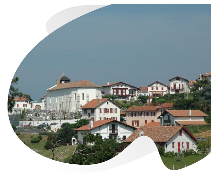 villes et villages du pays basque