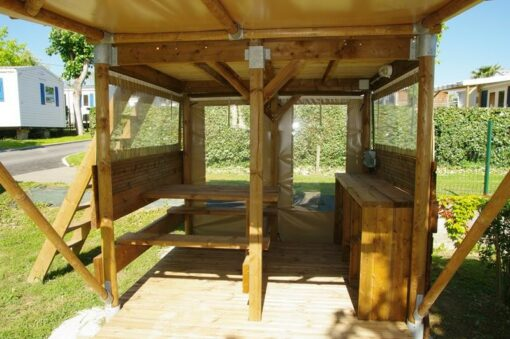 Tente Lodge 2 personnes laina camping oyam