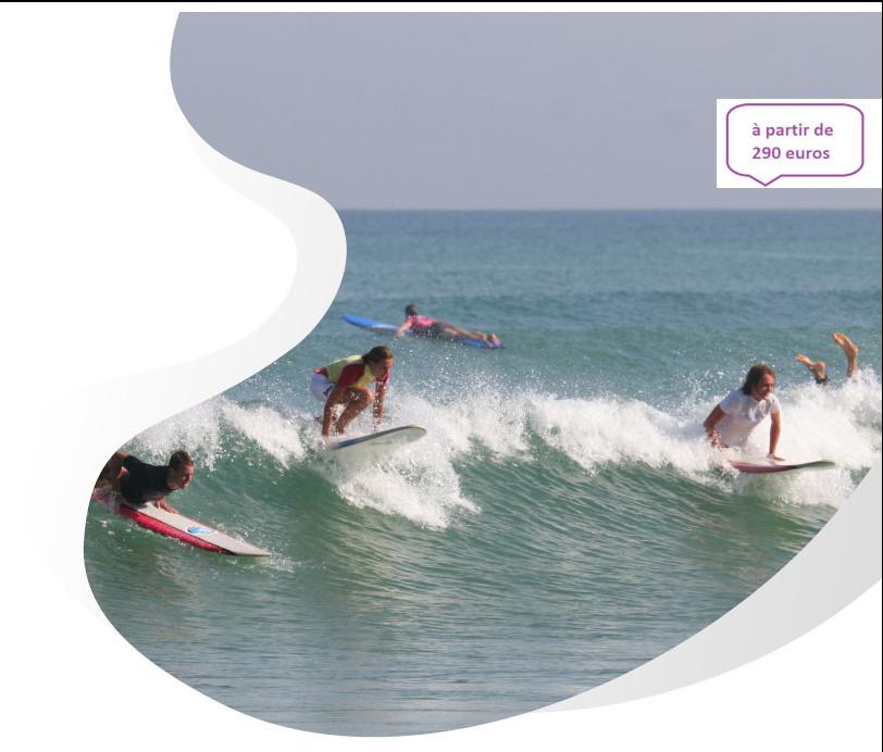 surf camp Biarritz